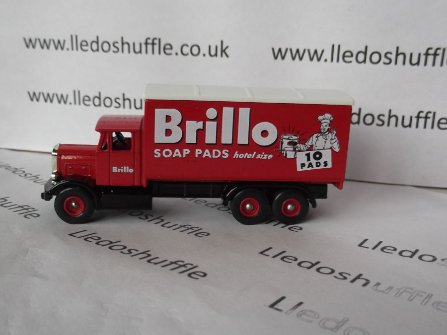 DG44023, Scammell 6w Truck, Brillo Soap Pads