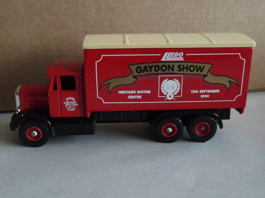 DG44026, Scammell 6w Truck, Gaydon Show 1999, Heritage Motor Centre