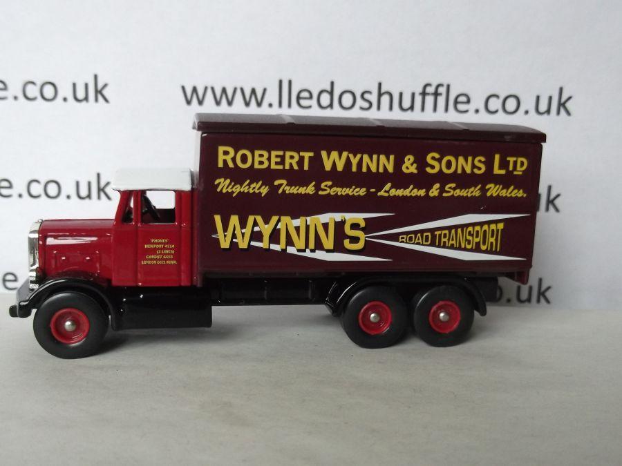 DG44033, Scammell 6w Truck, Robert Wynn & Sons