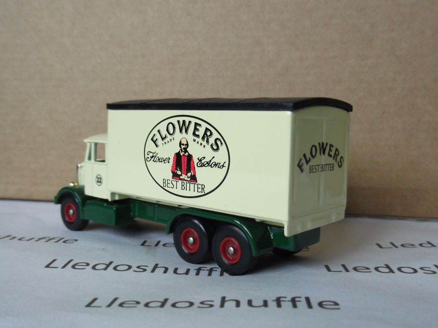 DG44037, Scammell 6w Truck, Flowers Best Bitter