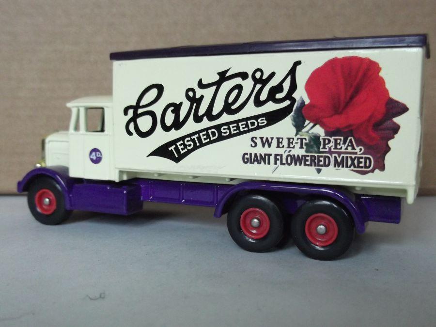 DG44040, Scammell 6w Truck, Carters Seeds