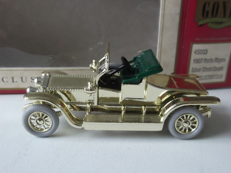 DG45003, Rolls Royce Silver Ghost Coupe, Gold, DG Collector 1994 model