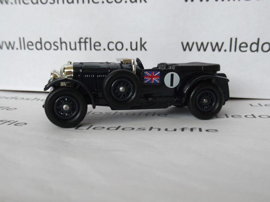 DG46001, Bentley 4.5litre Saloon, Blue, racing number 1