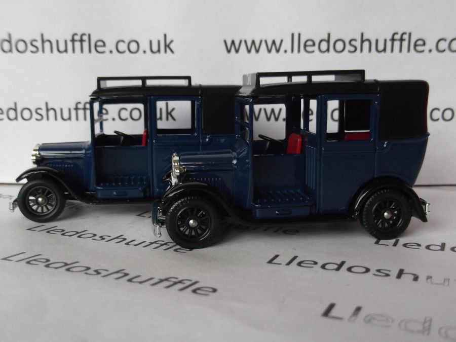 DG47000, Austin Taxi, Blue Taxi