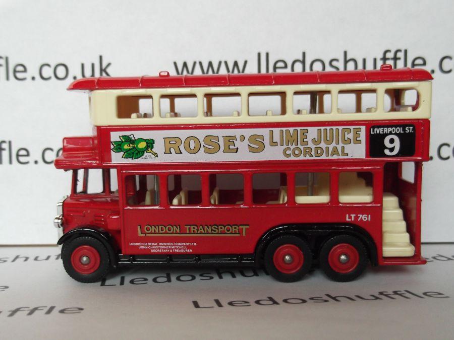 DG49001, AEC Renown D/D Bus, London Tpt / Roses Lime Juice Cordial