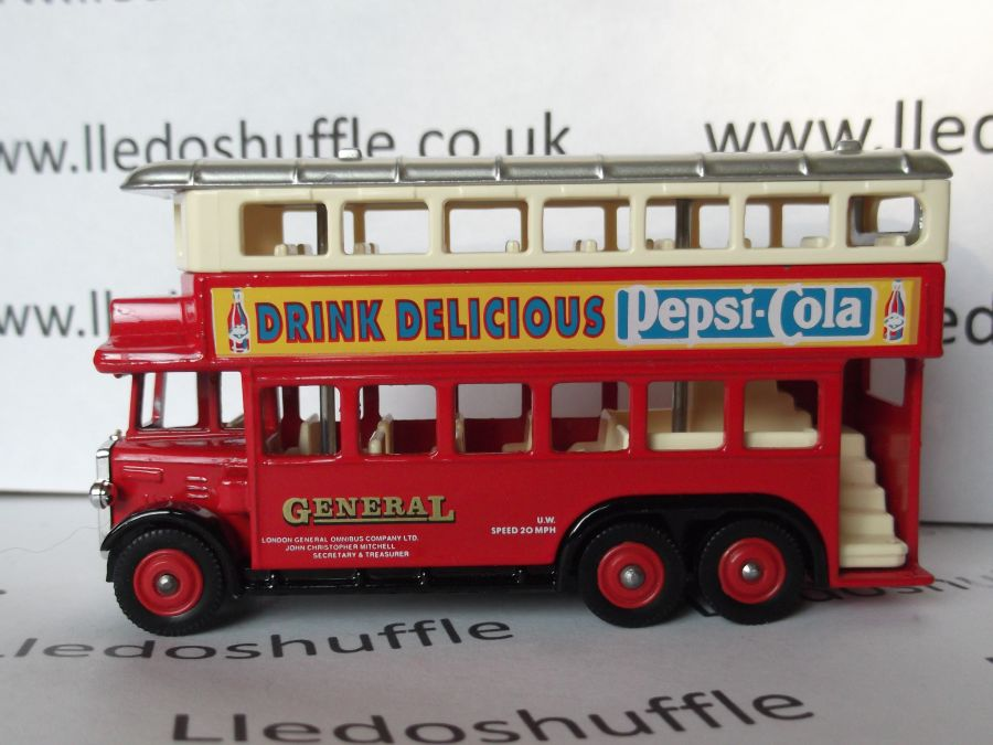 DG49009, AEC Renown D/D Bus, General / Pepsi Cola