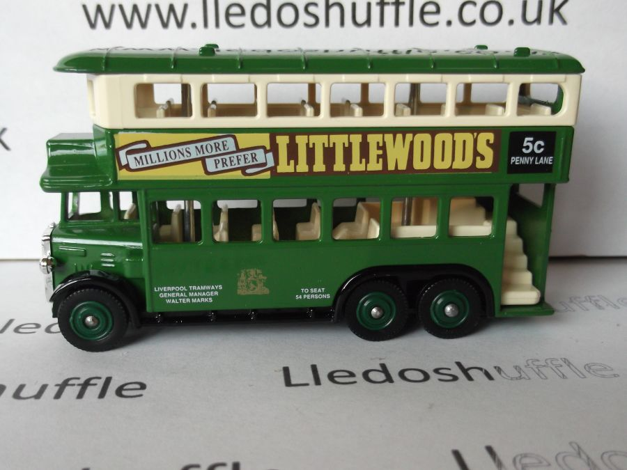 DG49011, AEC Renown D/D Bus, Liverpool Tramways / Littlewoods Pools