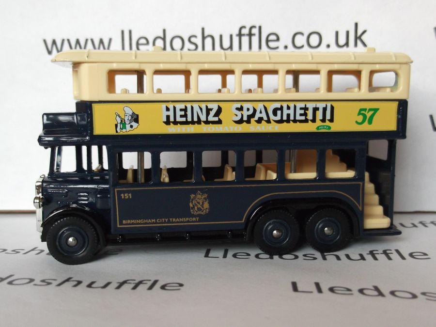 DG49013, AEC Renown D/D Bus, Birmingham / Heinz Spaghetti