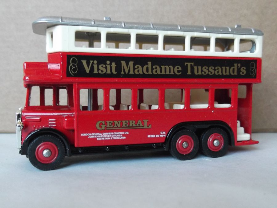 DG49019, AEC Renown D/D Bus, General / Madame Tussauds