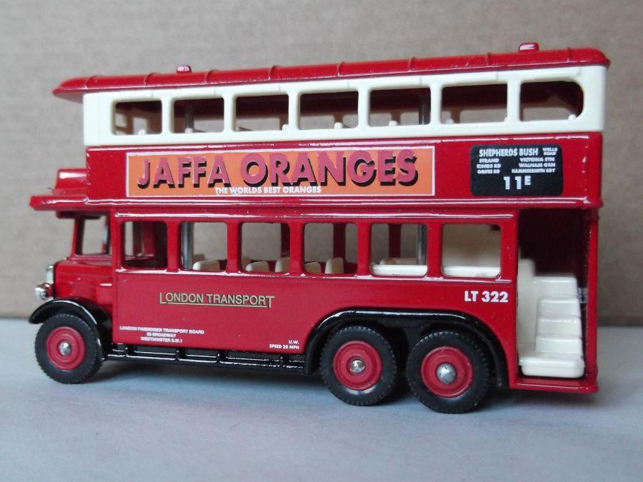 DG49021, AEC Renown D/D Bus, London Transport / Jaffa Oranges