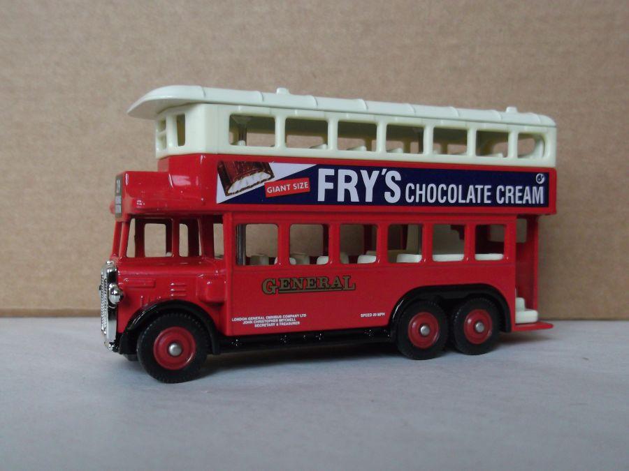 DG49023, AEC Renown D/D Bus, General / Frys Chocolate Cream