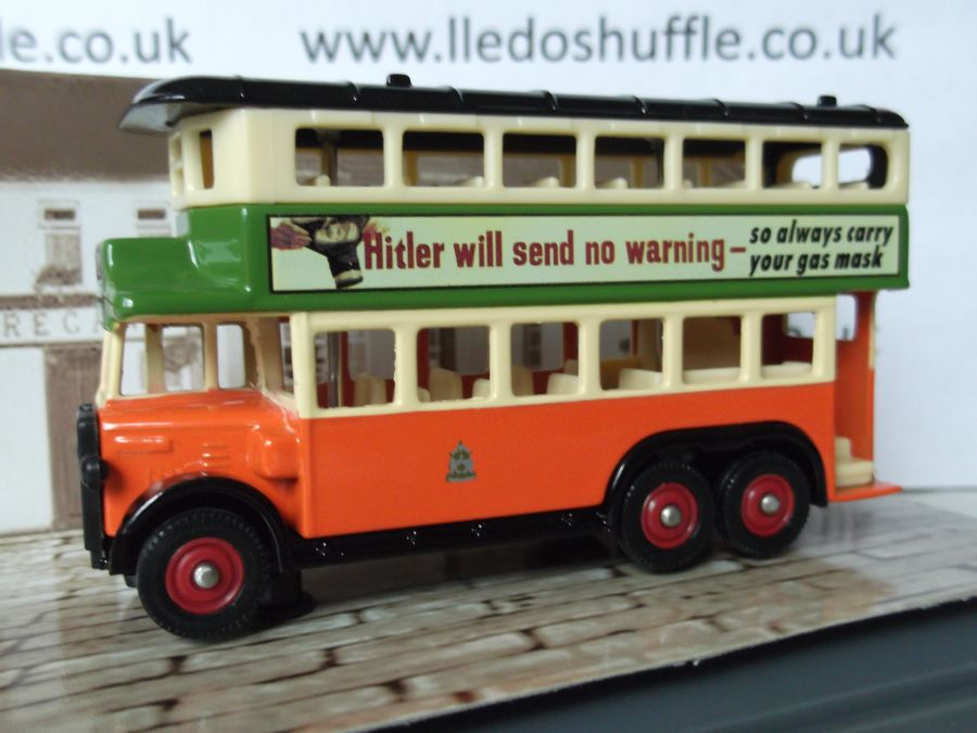 DG49024, AEC Renown D/D Bus, Glasgow Corp / Hitler will send no warning
