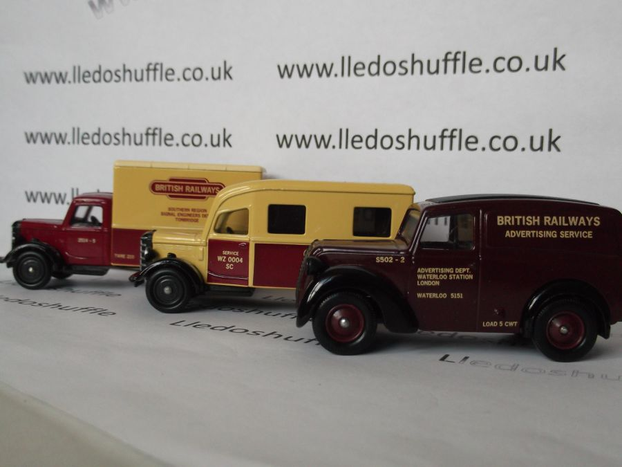 BRL1003, British Railways Service Vans
