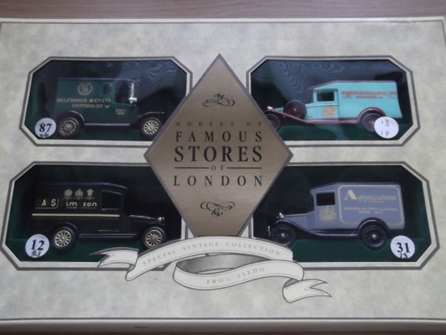 LS1004, Famous Stores of London - Set No. 1