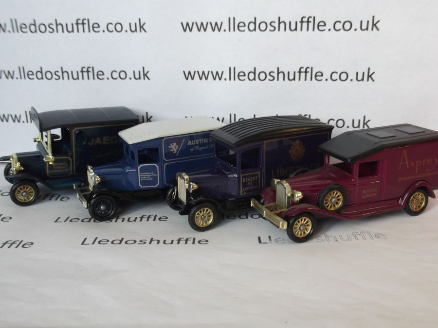 LS2004, Famous Stores of London - Set No. 2