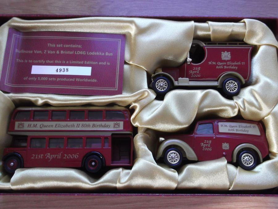 QU1003, HM Queen Elizabeth II 80th Birthday Set