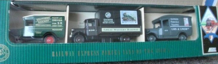 RSL2003, Railway Express Parcel Vans Set