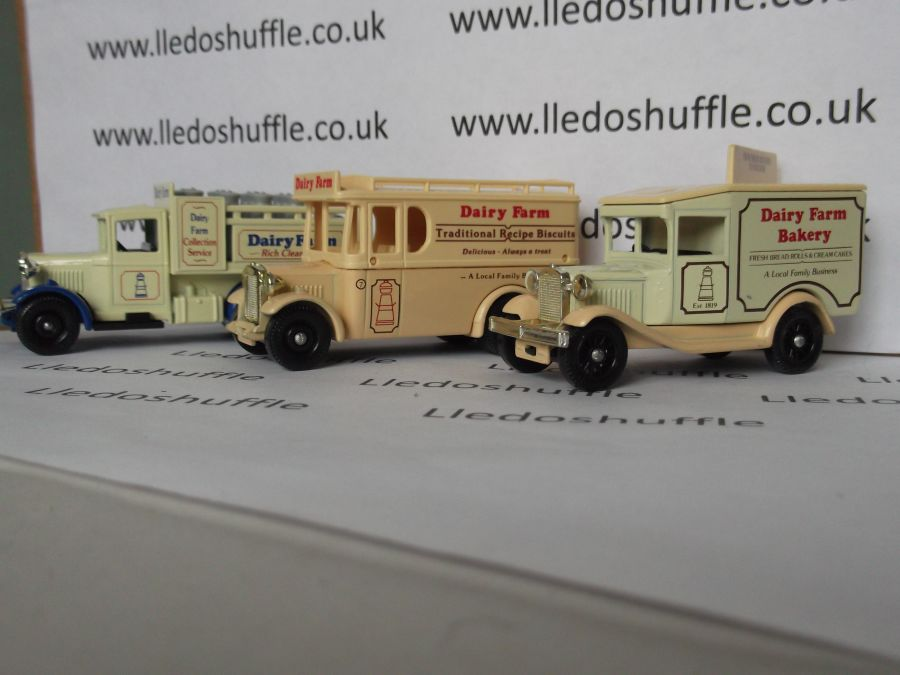 Dairy Farm 3 piece Set 1991