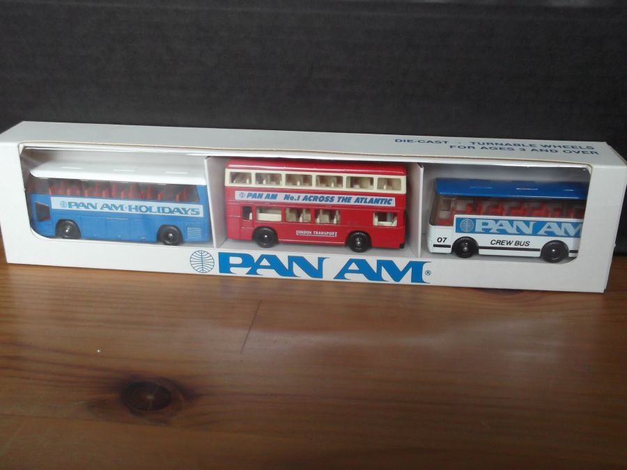 PanAm 3 piece Set, (Marathons Models - MP1, MP2, MP3)