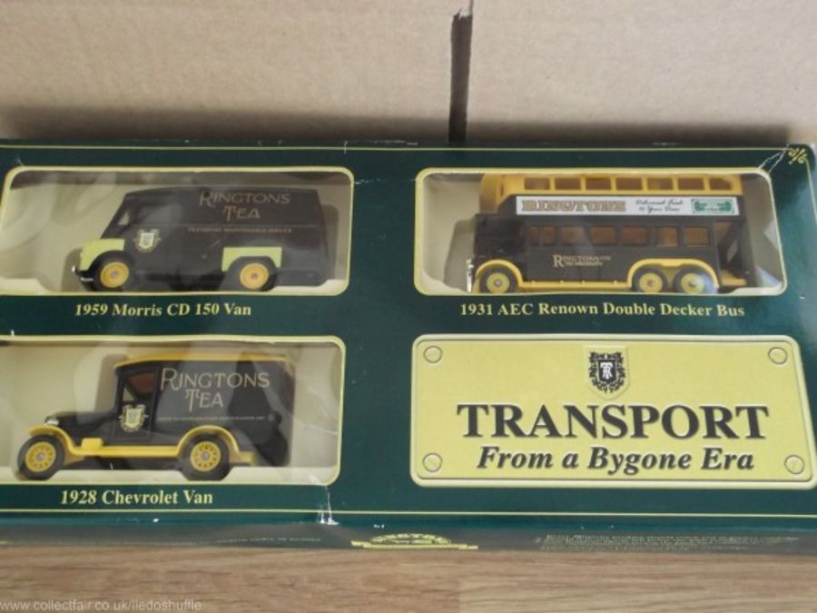 Ringtons Tea, Transport from a Bygone Era 3 piece Set