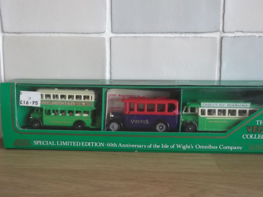 Southern Vectis 60th Anniversary, 3 piece Bus Set