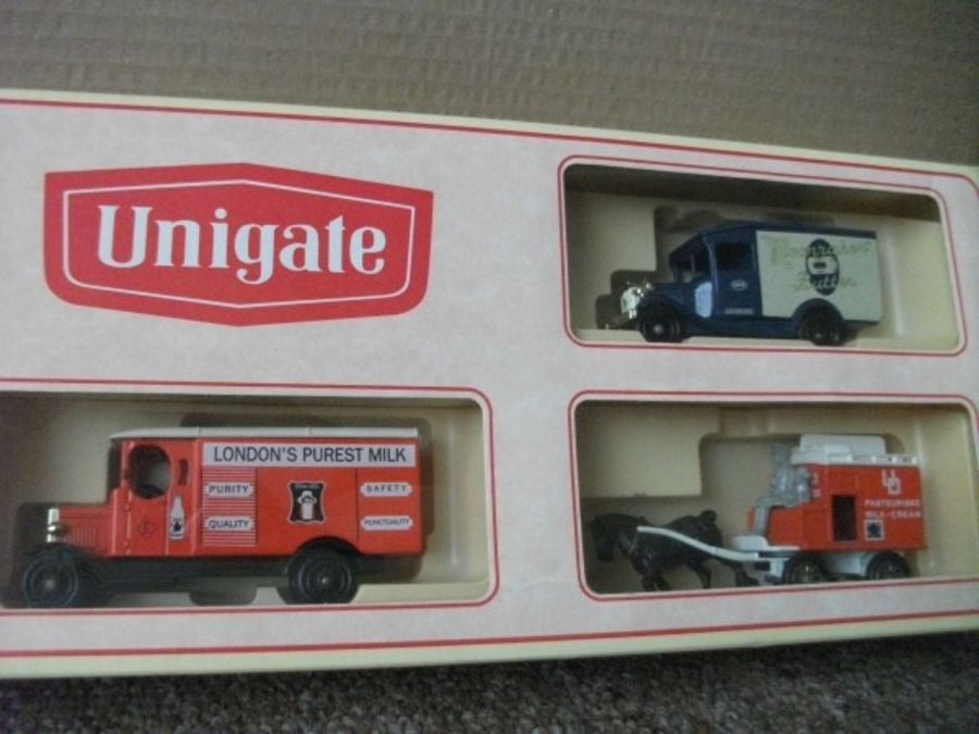 Unigate 1997, 3 piece Set, (LP02, LP13, LP43)