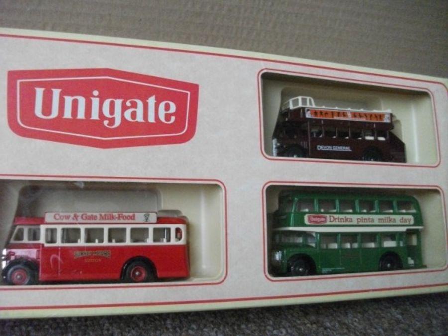 Unigate 1995, 3 piece Bus Set, (LP17, LP68, LP75)