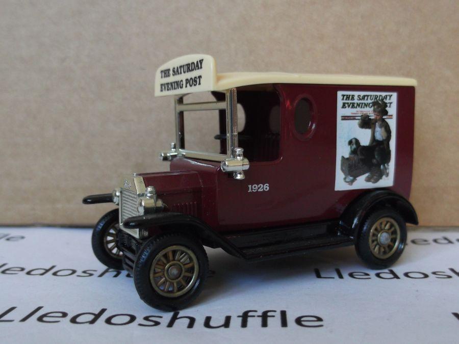 SL06002, Model T Ford Van, Norman Rockwell