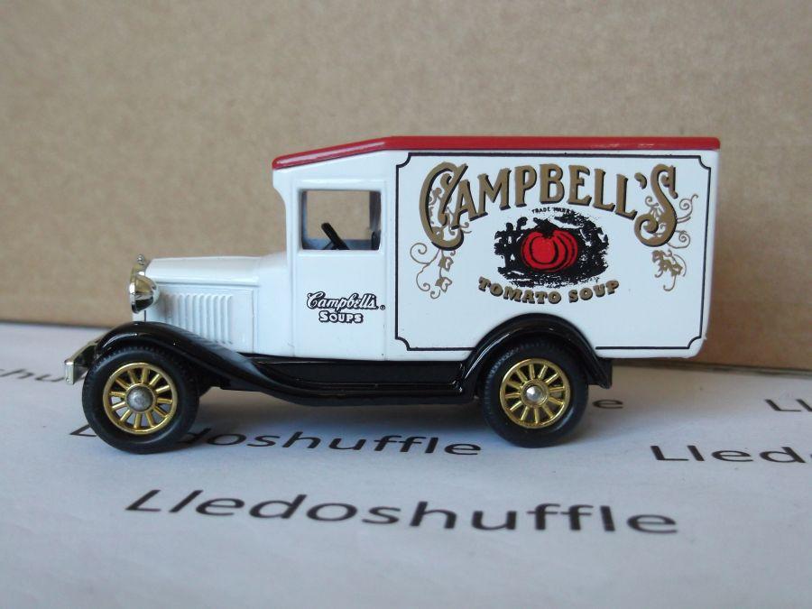 SL13002, Model A Ford Van, Campbells Tomato Soup
