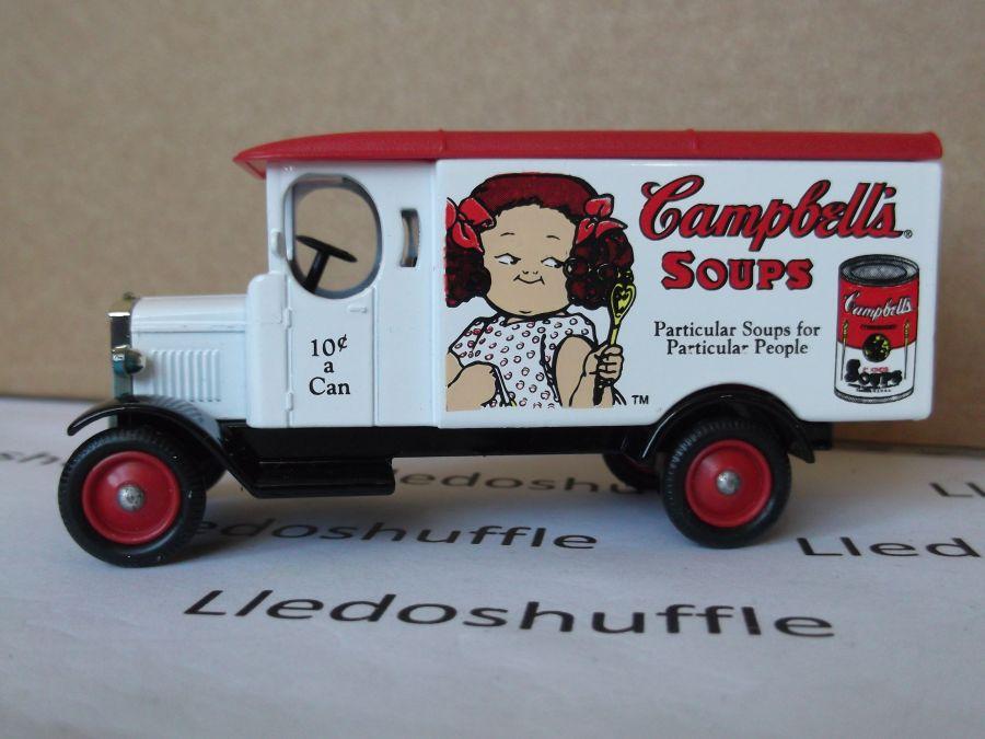 SL43001, Morris Van, Campbells Soup, can at rear