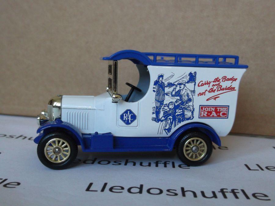SL50000, Bull Nose Morris Van, RAC Centenary