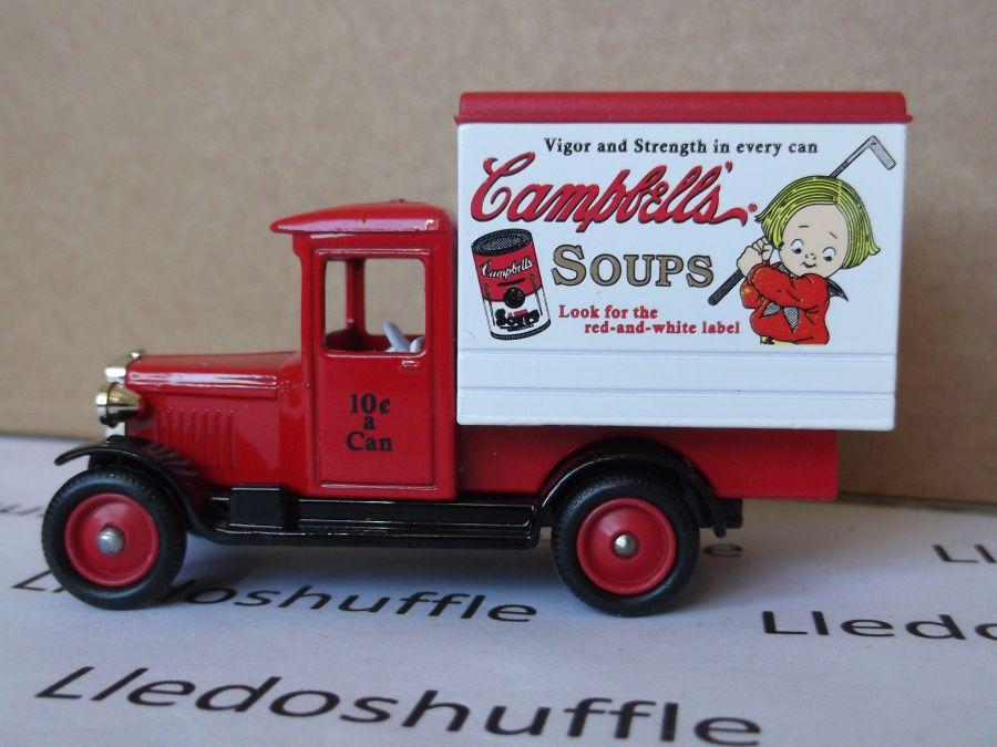 SL51004, Chevrolet Box Van, Campbells Soup (red cab)