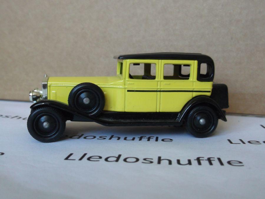 SL54001, Rolls-Royce D Back Saloon, Yellow
