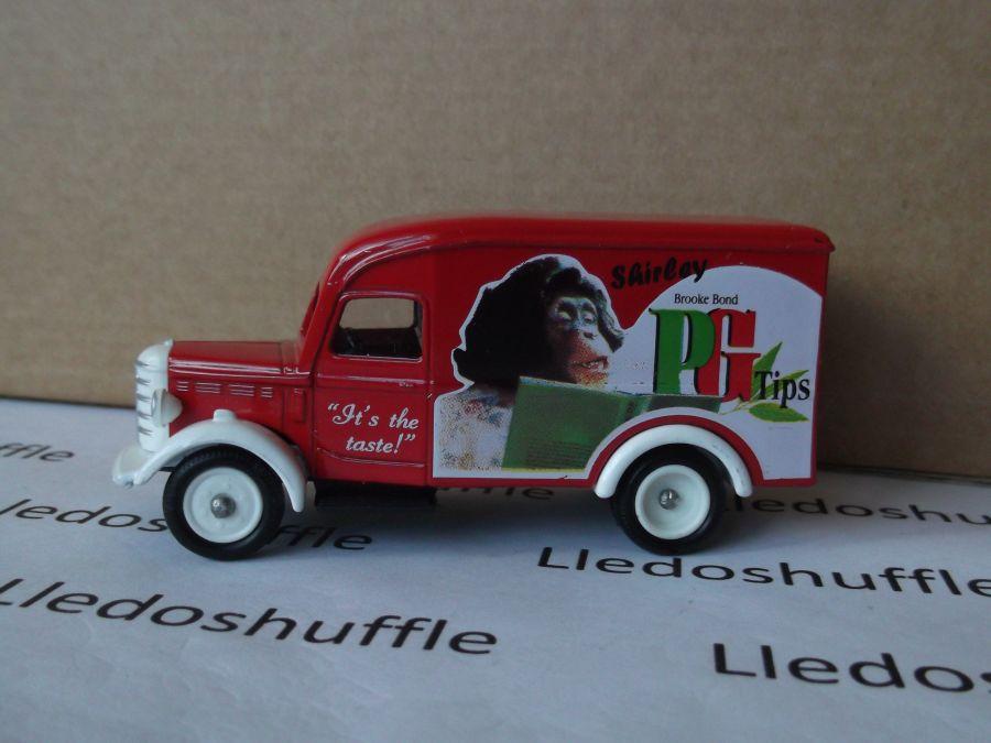 SL63000, Bedford 30cwt Delivery Van, Brooke Bond PG Tips, Shirley Tipps