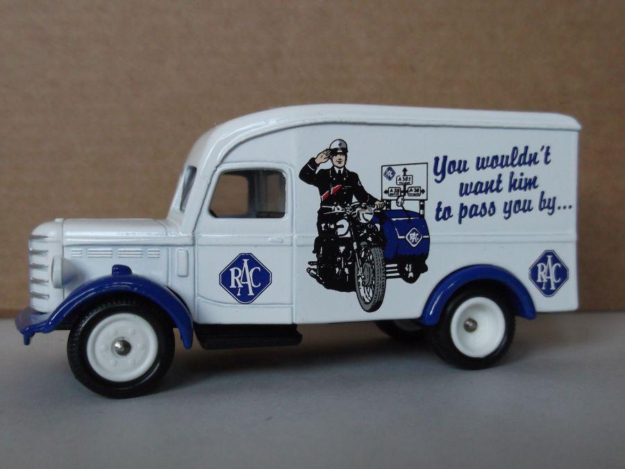 SL63002, Bedford 30cwt Delivery Van, RAC Centenary