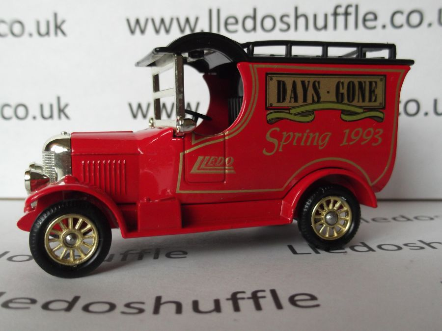 DG50004, Bull Nose Morris Van, Club Model, Spring 1993