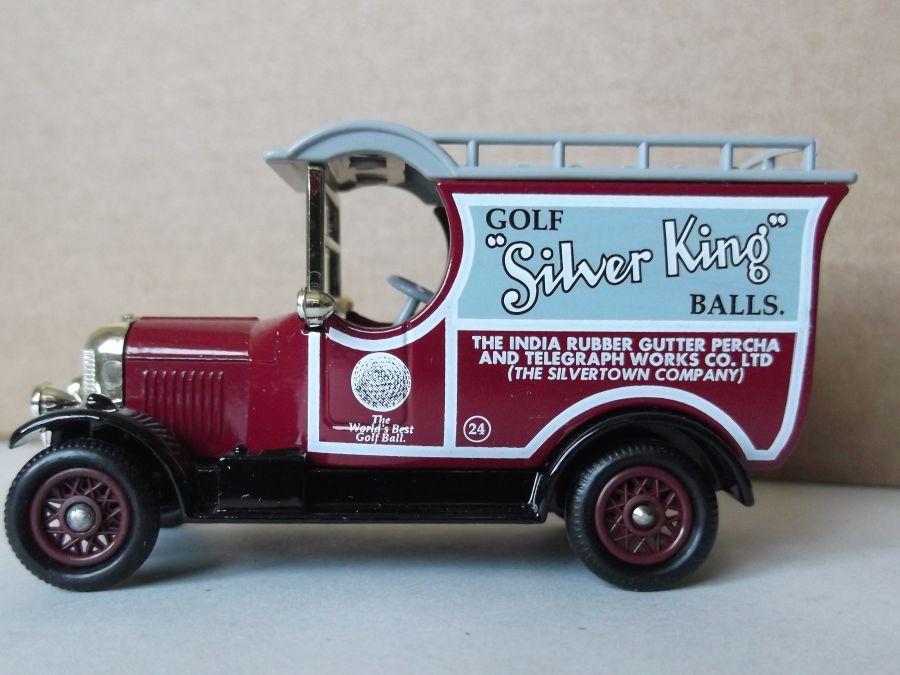 DG50014, Bull Nose Morris Van, Silver King Golf Balls