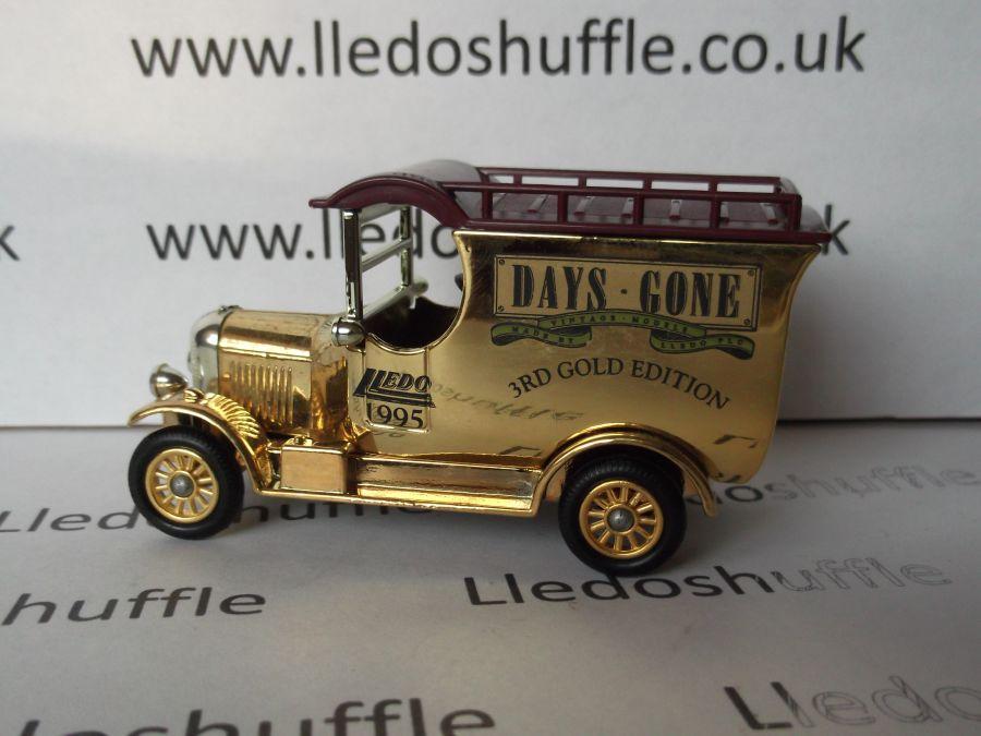 DG50015, Bull Nose Morris Van, 3rd Gold Edition