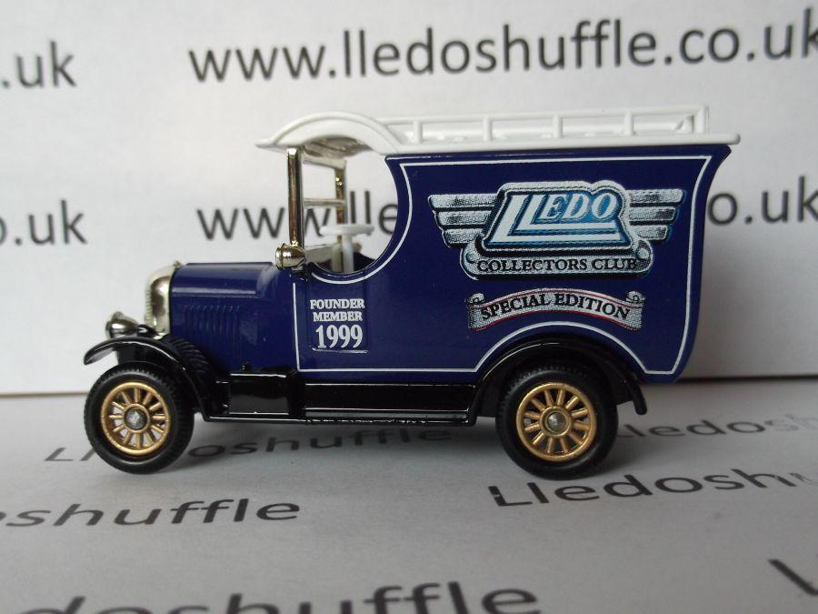 DG50026, Bull Nose Morris Van, Club Founder Member 1999