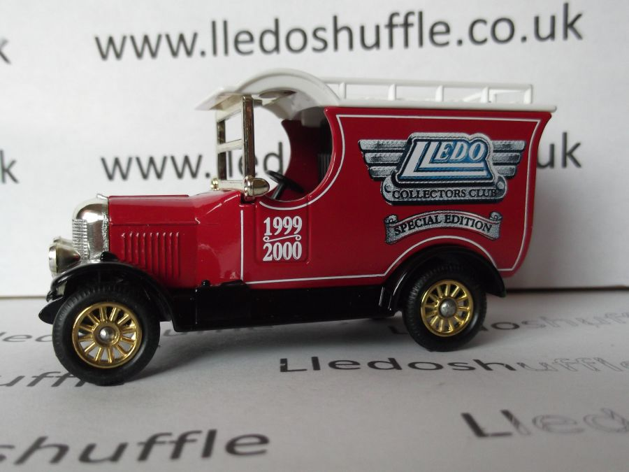 DG50027, Bull Nose Morris Van, Collectors Club Special Edition, 1999-2000