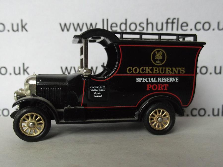 DG50035, Bull Nose Morris Van, Cockburns Special Reserve Port