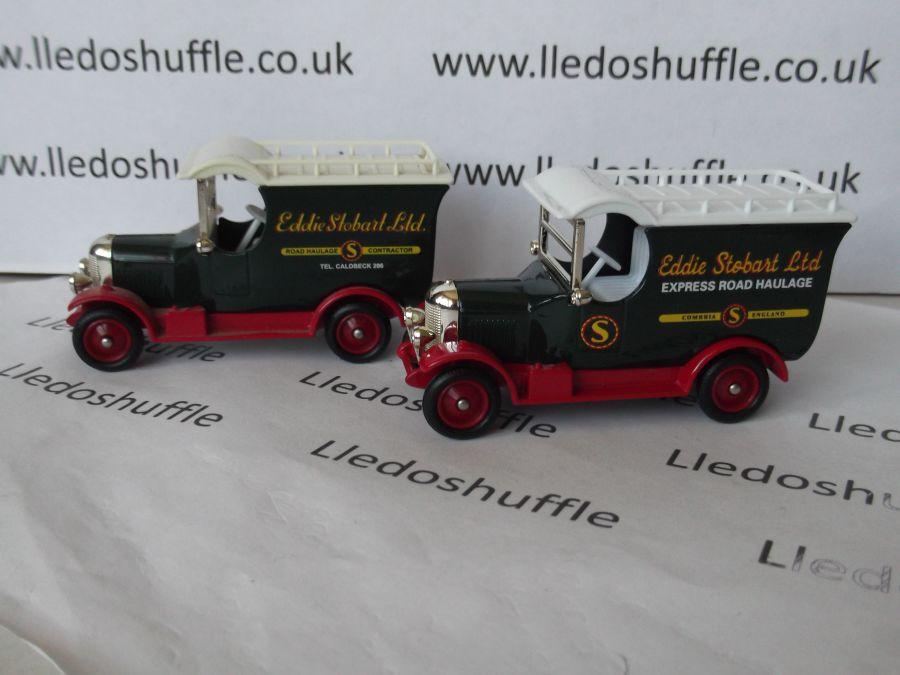 DG50036a, Bull Nose Morris Van, Eddie Stobart