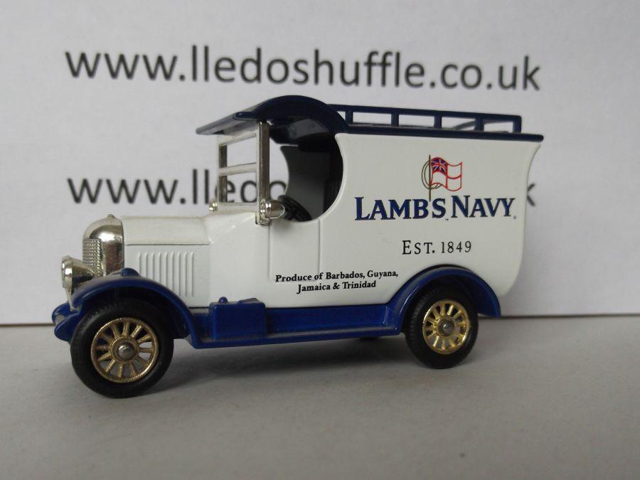 DG50037, Bull Nose Morris Van, Lambs Navy Rum