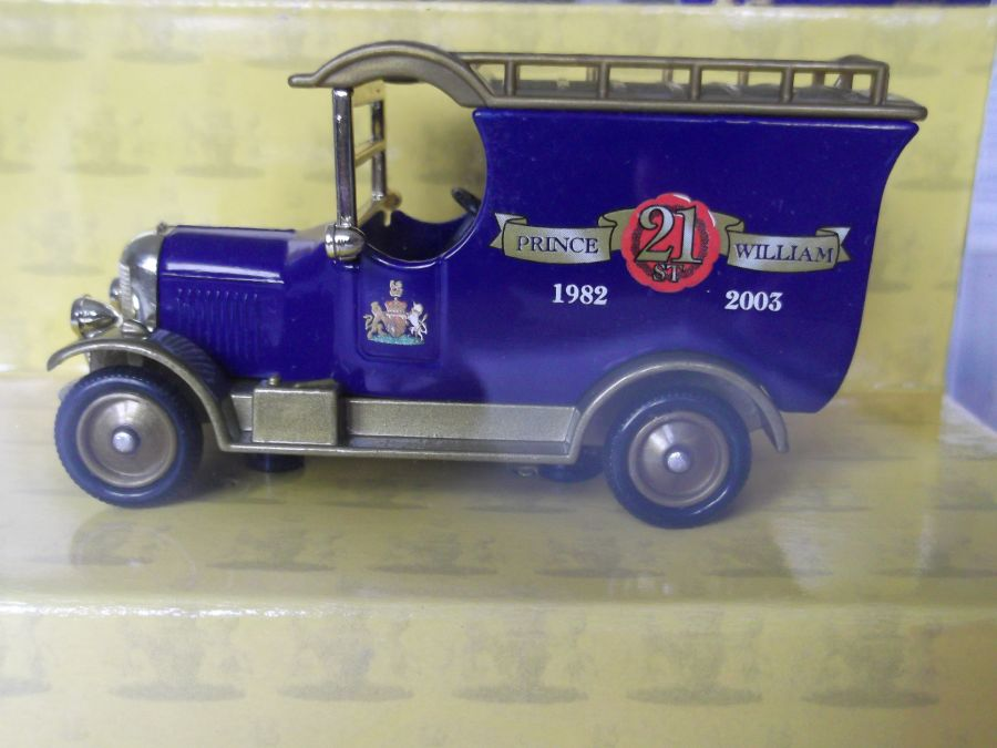 DG50053, Bull Nose Morris Van, Prince William's 21st Birthday