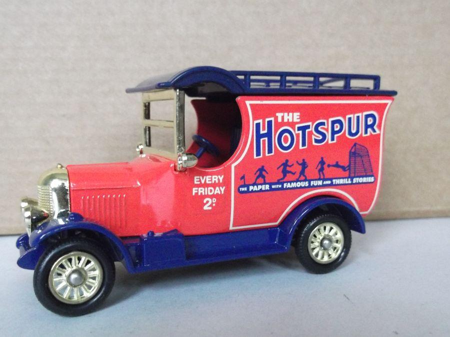DG50056, Bull Nose Morris Van, The Hotspur