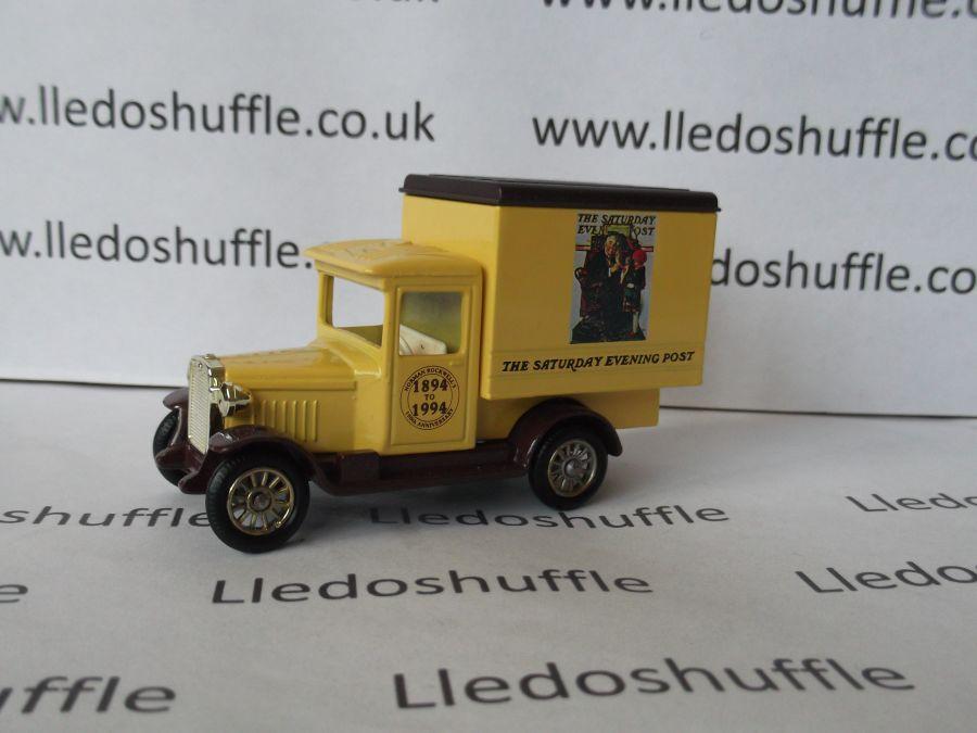 DG51008, Chevrolet Box Van, Norman Rockwell