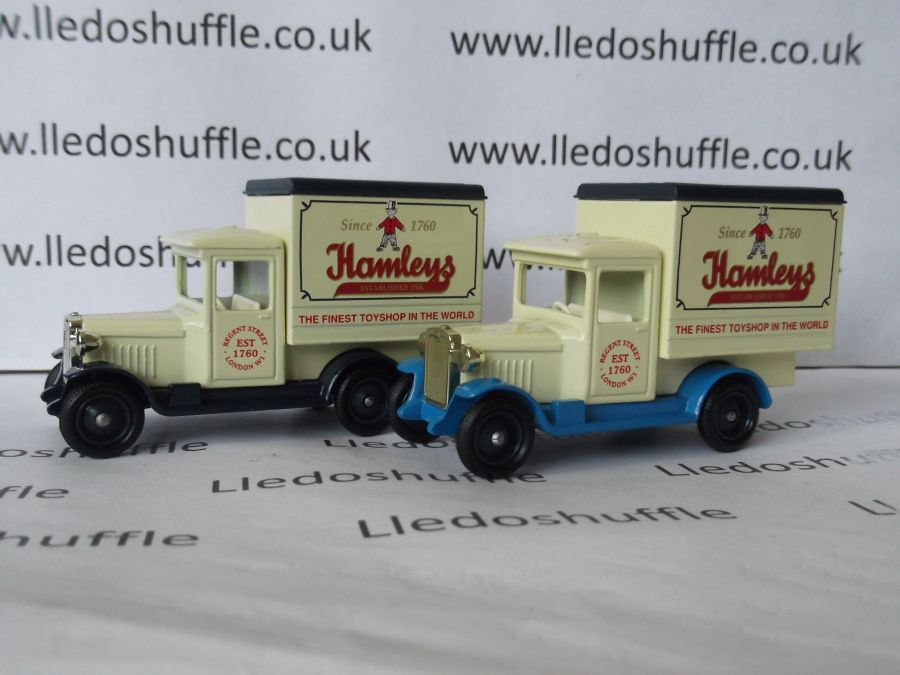 DG51009, Chevrolet Box Van, Hamleys