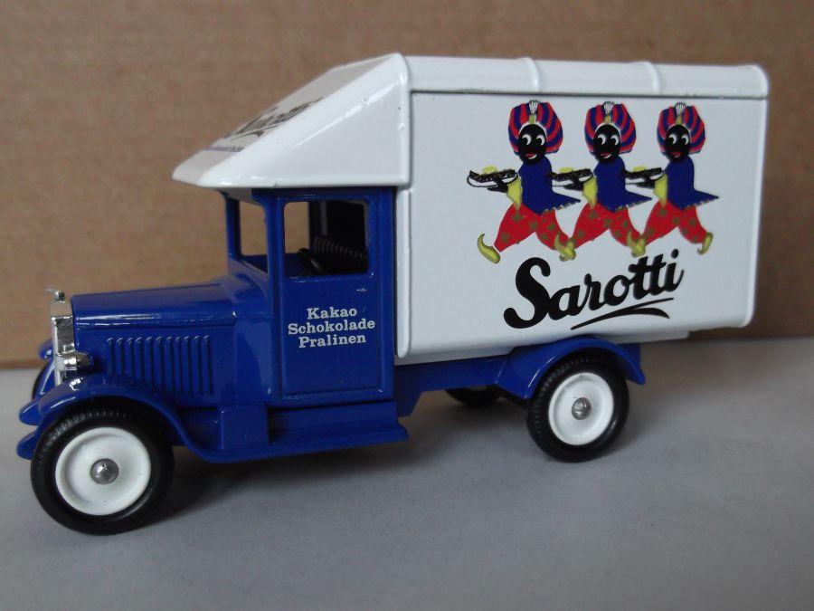 DG52012, Morris Parcels Van, Sarotti Schokoladen