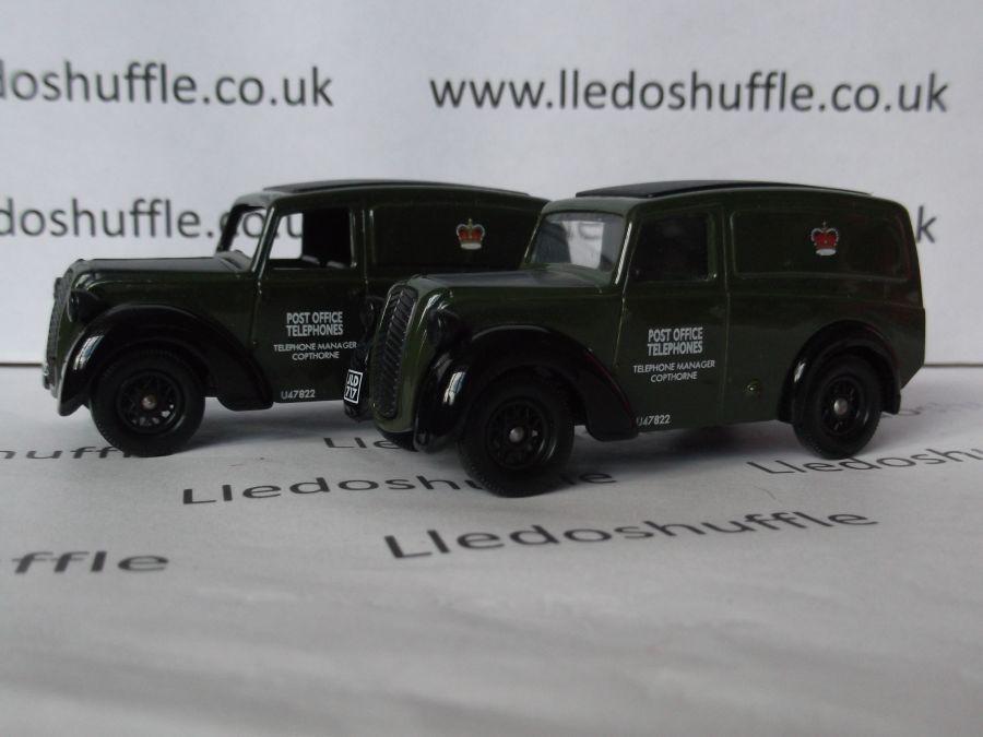 DG58000, Morris Z Van, Post Office Telephones