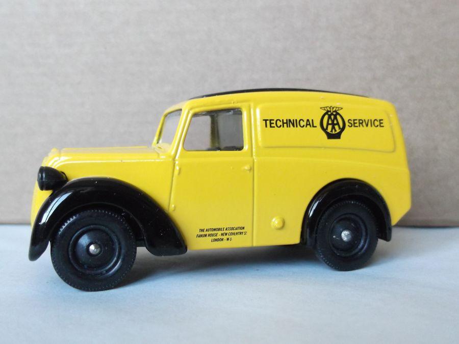 DG58014, Morris Z Van, AA Technical Service